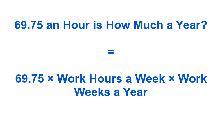 69.75 an Hour is how Much a Year
